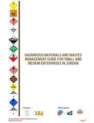 Hazardous Waste Management in Small and Medium-sized Enterprises in the Context of Integrated Life-cycle Management of Materials