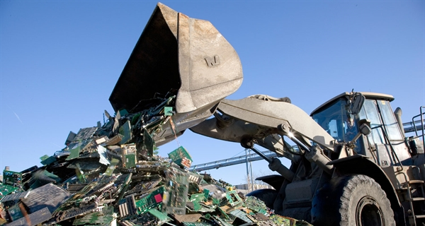 Join efforts to tackle the world's growing E-waste problem