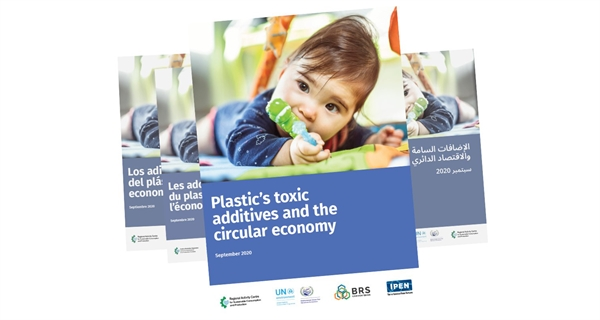 New report highlights dangers to health and the environment from toxic chemicals found in some types of plastic