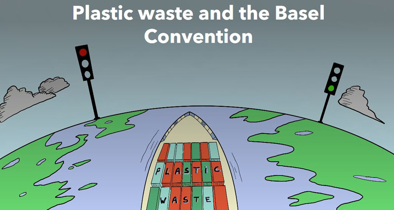 Story map: Plastic waste and the Basel Convention