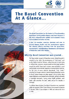 The Basel Convention at a glance...