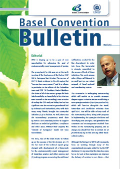 Basel Convention Bulletin