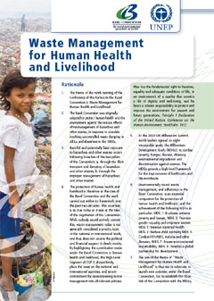 Waste management for human health and livelihood
