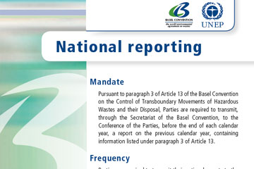 National reporting under the Basel Convention