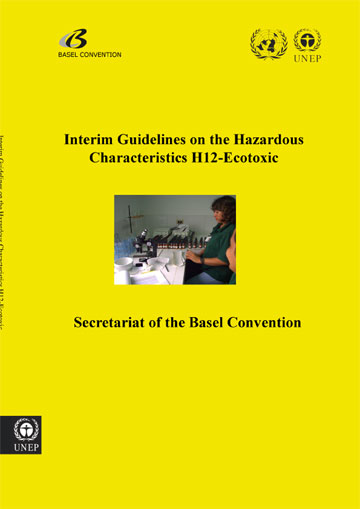 Interim guidelines on the hazardous characteristic H12-Ecotoxic