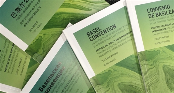 Amended Basel Convention text now available online in 6 UN languages