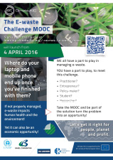 The e-waste challenge mooc - flyer